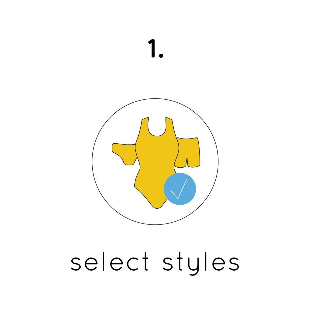 Select style finis custom logo