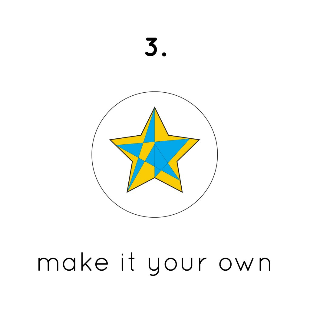 Make your own finis custom start logo