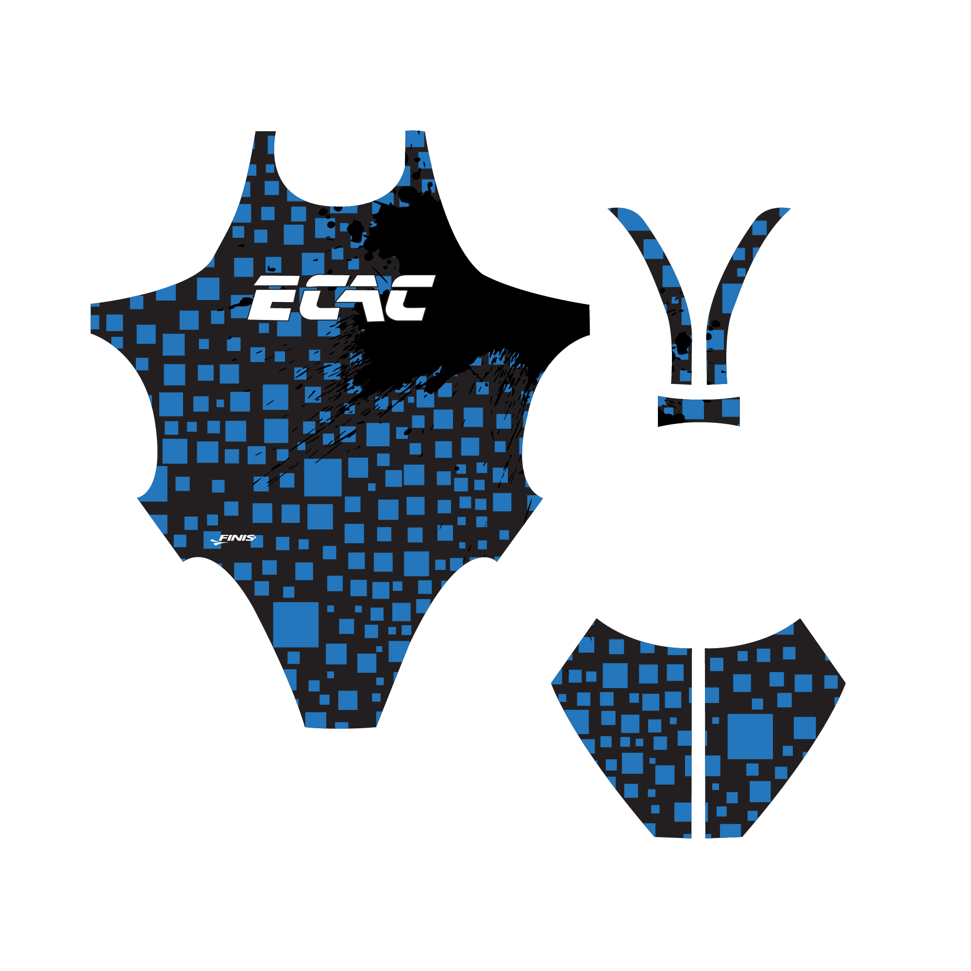 ECAC finis custim blade back suit proof